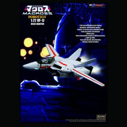 1/72 VF-1J RICK HUNTER WITH FAST PACK ARMOUR - 2ND ROUND PREORDER DEPOSIT(LIST PRICE USD199.90, DEPOSIT  USD99.90)