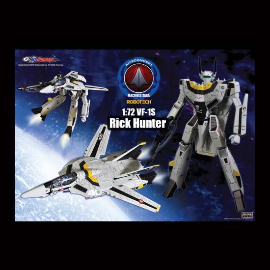 1/72 VF-1S RICK HUNTER VERSION 2 PREORDER DEPOSIT (LIST PRICE USD139.90, DEPOSIT USD69.90)