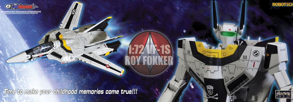 Kitzconcept 1/72 VF 1-S Rick Hunter available for preorder now!