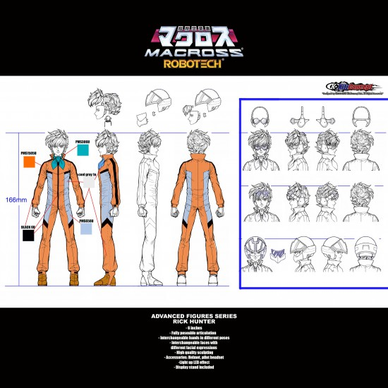 1/12 ADVANCED ACTION FIGURES SERIES - RICK HUNTER PREORDER