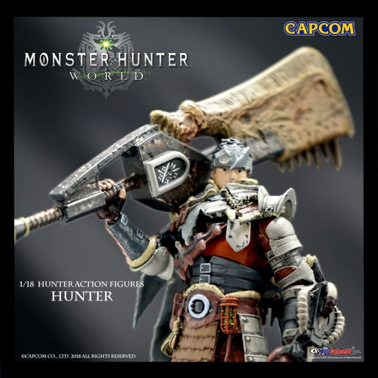 1/18 ACTION FIGURES SERIES - MALE HUNTER PREORDER