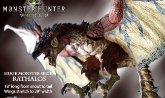 Monster Hunter World - Rathalos and Male Hunter figures are available for preorder now!