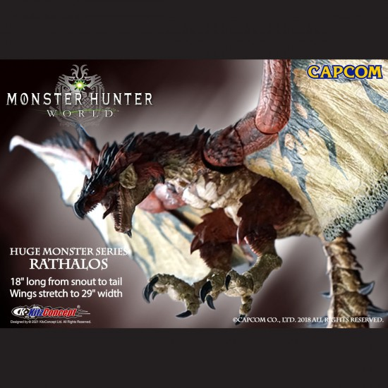 HUGE MONSTER SERIES - RATHALOS PREORDER DEPOSIT (PREORDER SPECIAL PRICE USD233, DEPOSIT USD100)