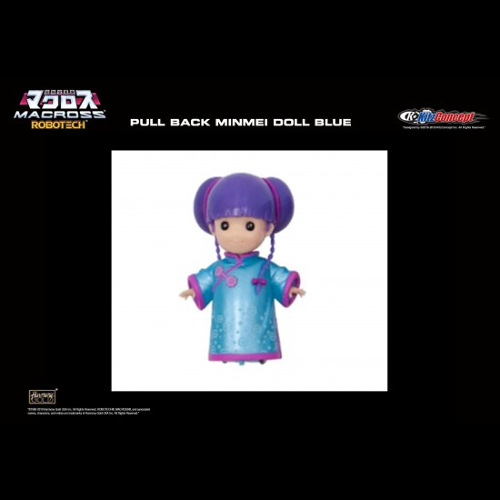 LYNN MINMEI PULL BACK DOLL (BLUE)